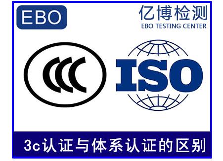 3c认证与体系认证的区别
